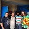 Tenacious D chilling with Reggie Watts and Weird Al with lots of Tim & Eric Decor