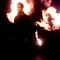 Mixmag Photoshoot 'Set on fire Calvin Harris'