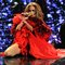 Jlo performs at the iHeartRadio Music Festival