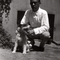 Schoenberg and Witz the dog