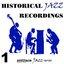 Historic Jazz Recordings, Volume 1