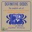 Definitive Dodds 1926 - 1927: The Complete Sets