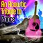 An Acoustic Tribute To Prince