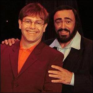 Elton John & Luciano Pavarotti