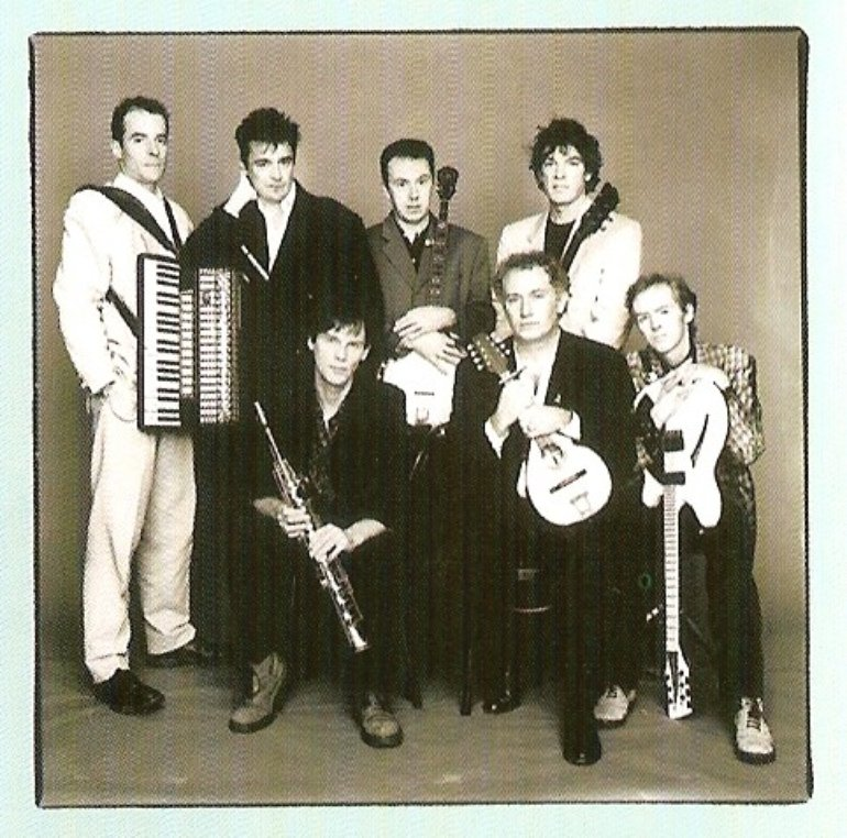 Post-MacGowan's depature band