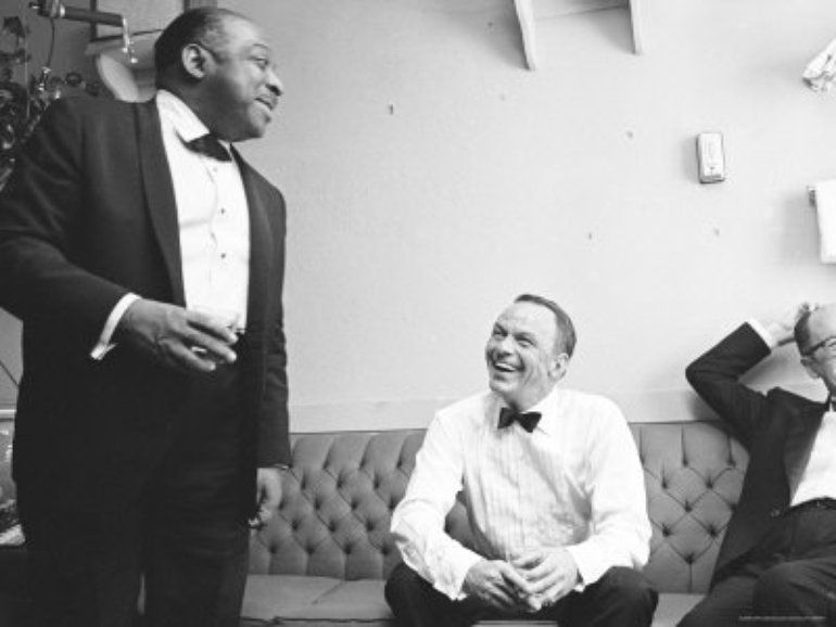 Frank and Count Basie