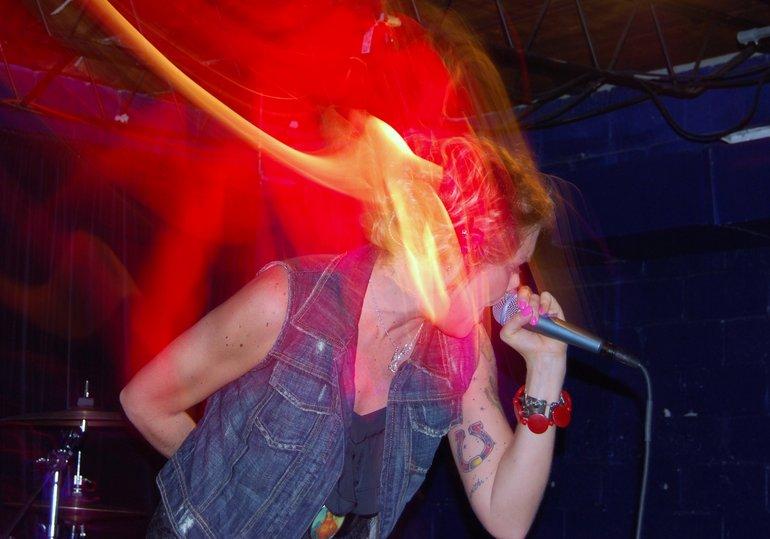 Live at the Turnin Headz Showcase in Houston