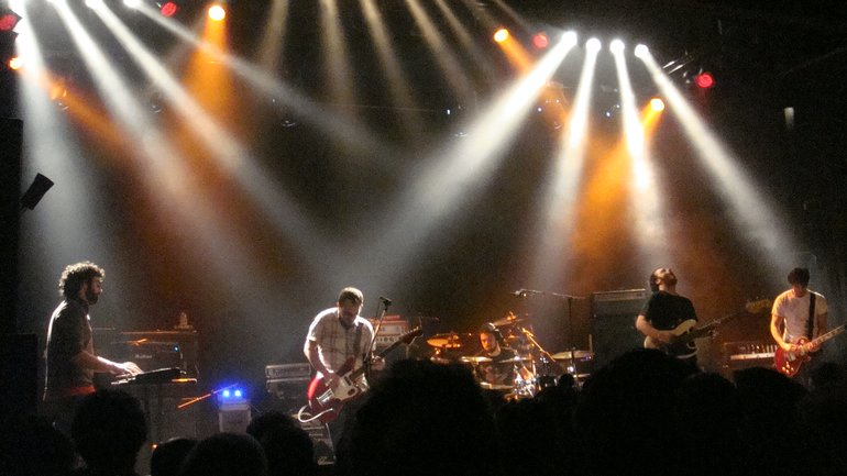 misuse live at gagarin 205,opening for mogwai