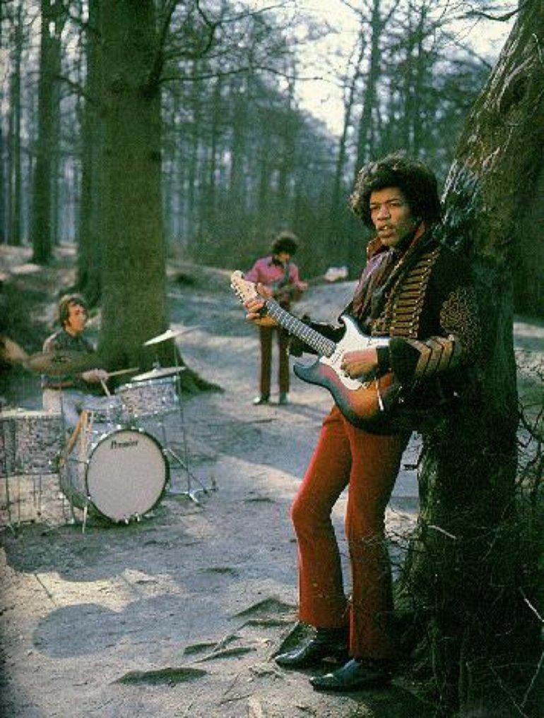 The Jimi Hendrix Experience 475f0f116d994e7c90fcae0ce3ee1708