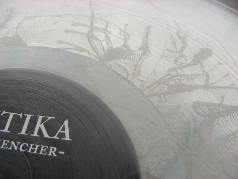 Arktika | heartwrencher LP | clear vinyl with etching