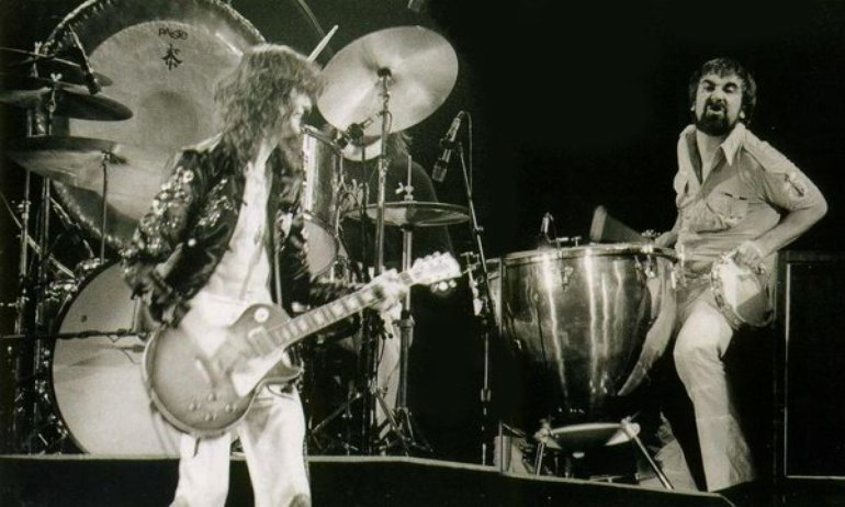 Led Zeppelin and Keith Moon