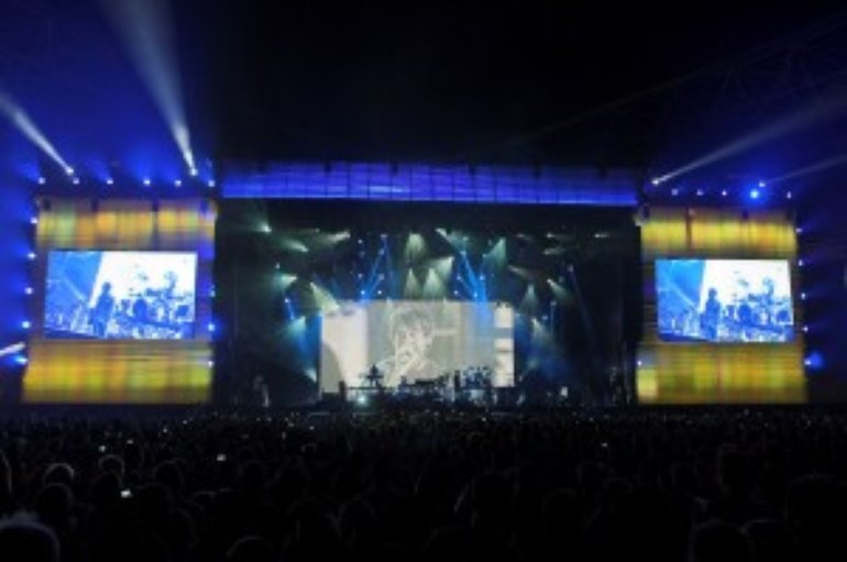 Linkin Park in UAE.
