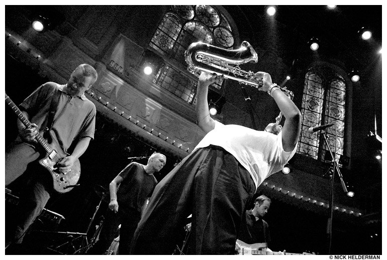 Live in Paradiso. Photo by Nick Helderman