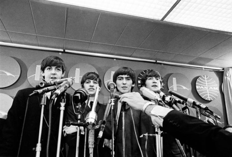 The Beatles Arrive On US Shores, 1964!