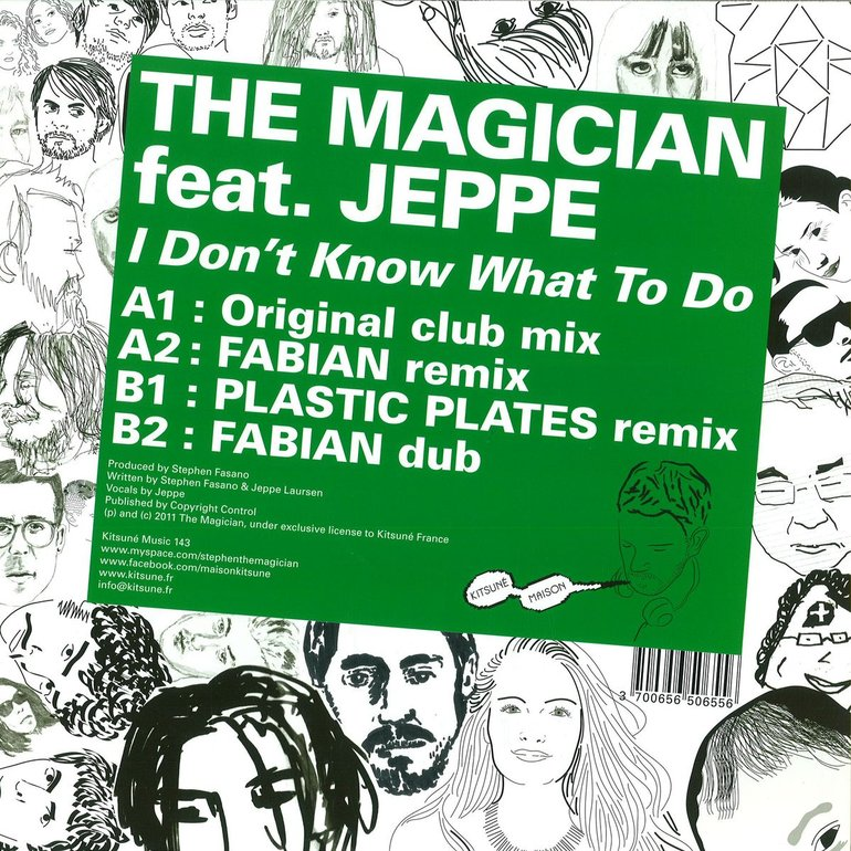 The Magician feat. Jeppe - I Don't Know What To Do
