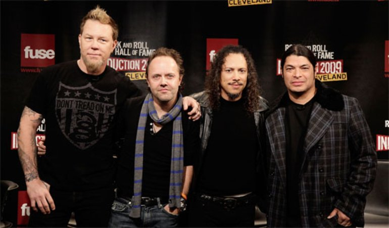 Metallica to Rock And Roll Hall Of Fame