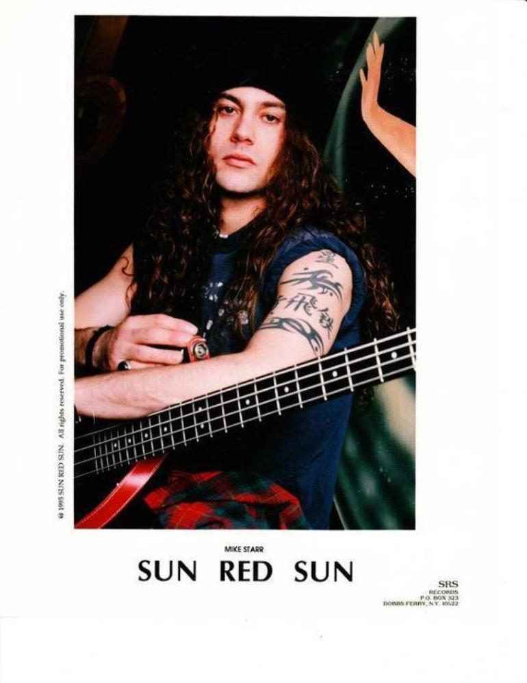 Sun Red Sun Mike Starr