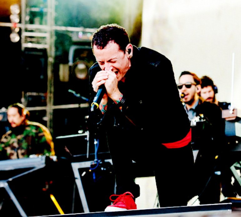 Linkin Park live Moscow.
