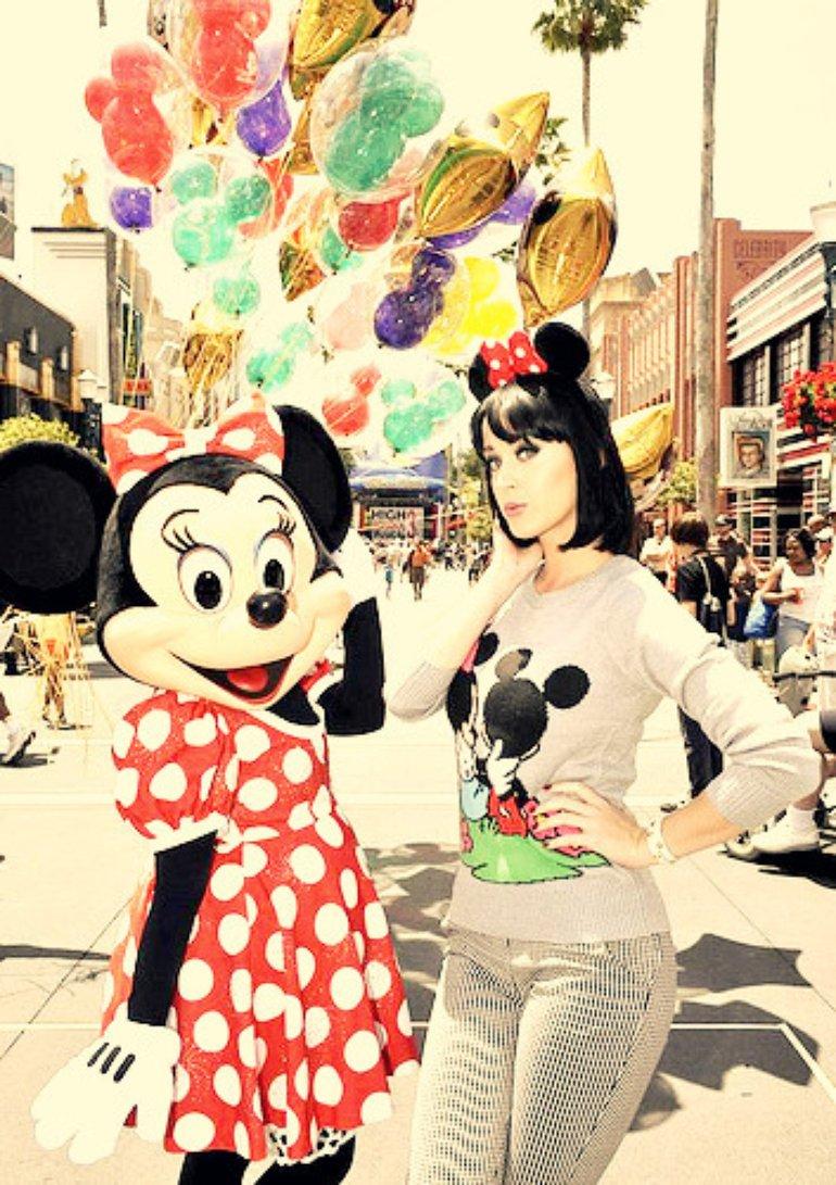 Katy and Minnie