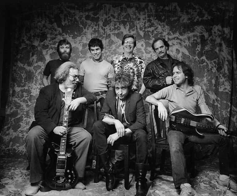 Grateful Dead With Bob Dylan