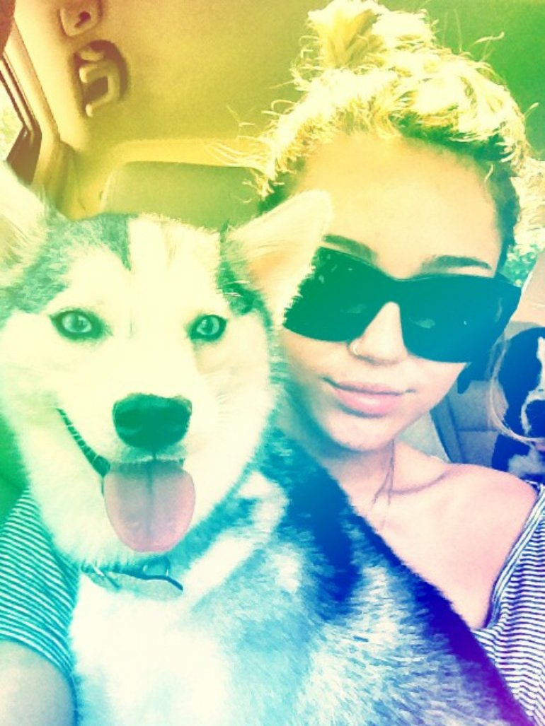 Floyd and Miley :)
