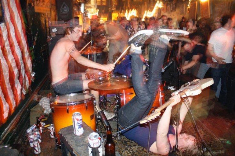 Live at the Soul Bar.