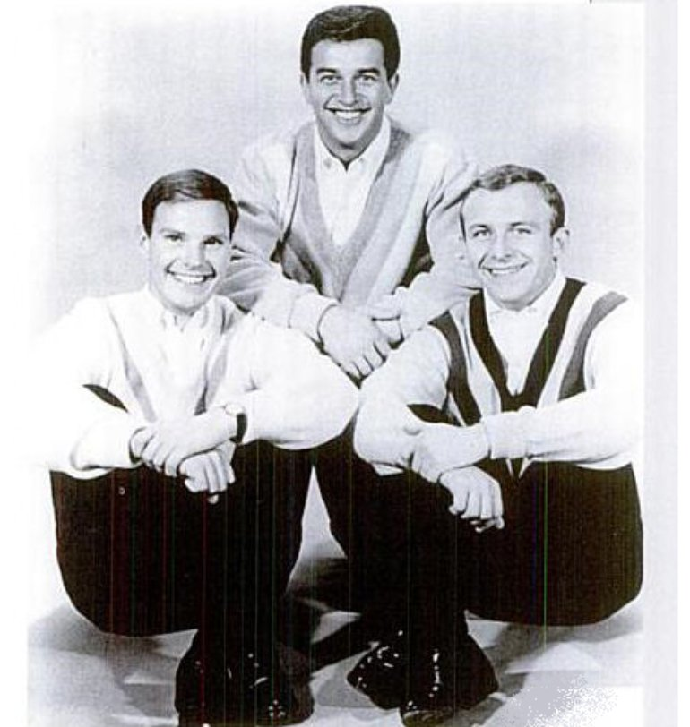 Left to right: George Patterson, Kirby Johnson and Ed Wade; A.K.A. The Wellingtons