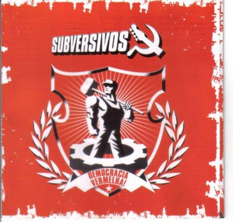 Capa do Cd Democracia Vermelha