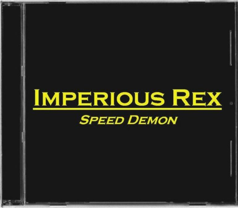 """SPEED DEMON\"" cover"