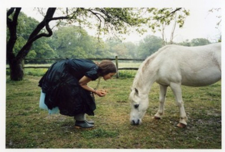 lou and the horse