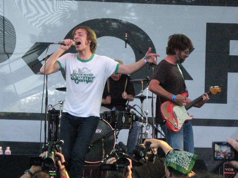Green River Reunion Show, July 2008