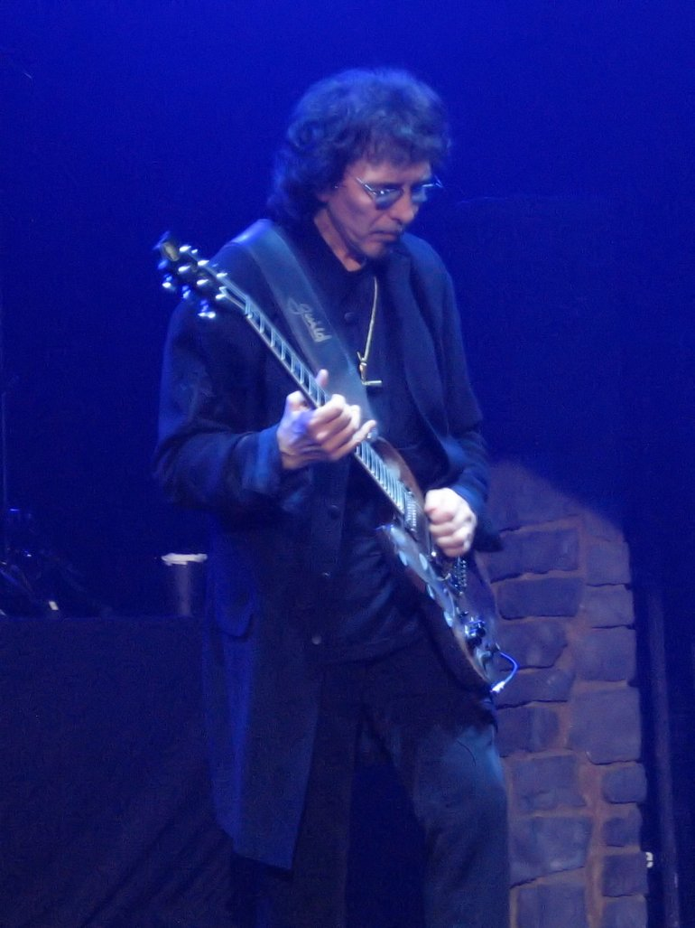 Iommi live with Heaven & Hell at Katowice Spodek