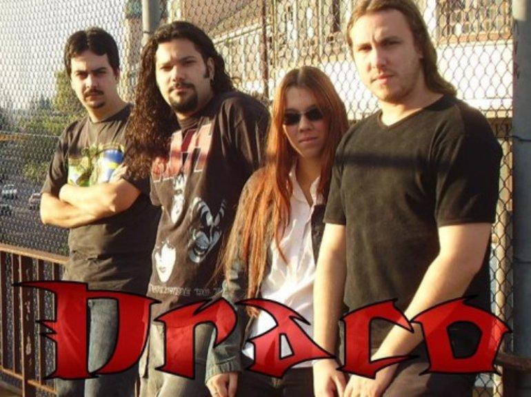 Draco banda de rock rool brasileira1