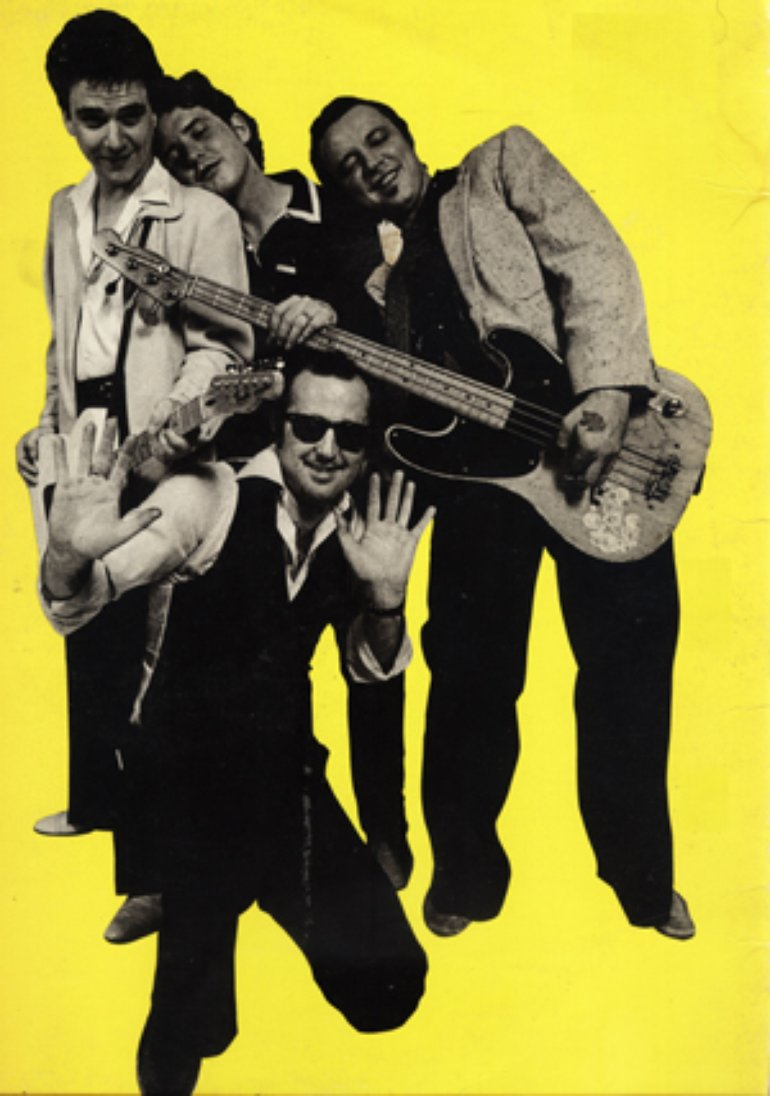 Jimmie Vaughan, Mike Buck, Keith Ferguson and Kim Wilson back in 1979