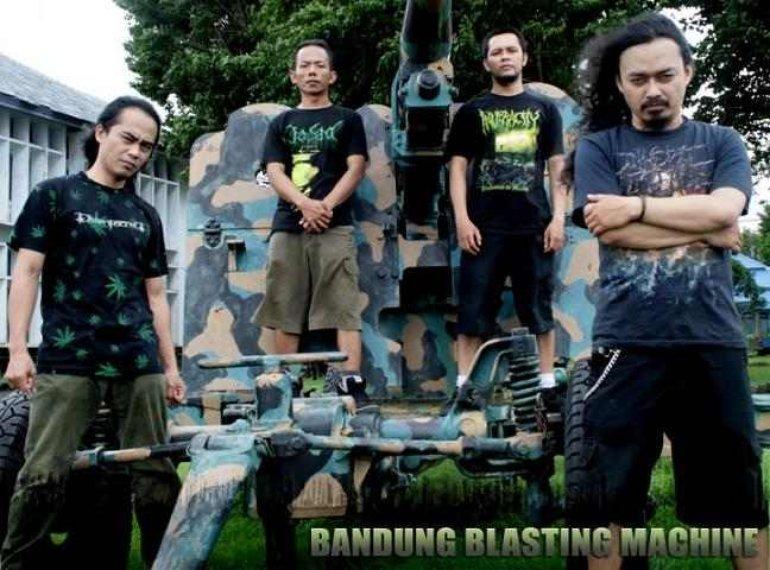 Jasad - Bandund Blasting Machine