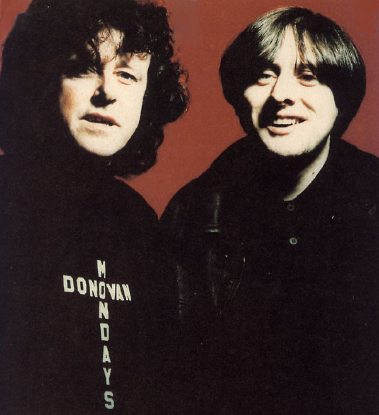 Shaun Ryder and Donovan