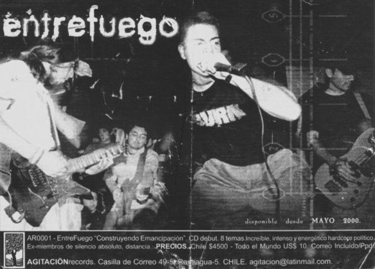 Entrefuego - Promo Construyendo Emancipacion 2000