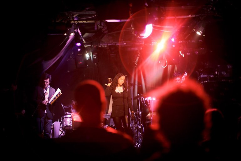 Supporting Mice Parade @ Corsica Studios, 13.10.10