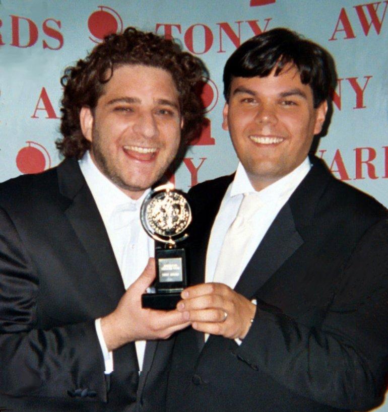 Robert Lopez & Jeff Marx at the Tony Awards