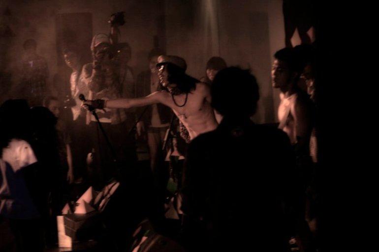 Johnny and The Riot at Makarab DKV Binus