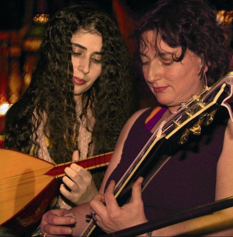 Paula Darwish and Serpil Kılıç