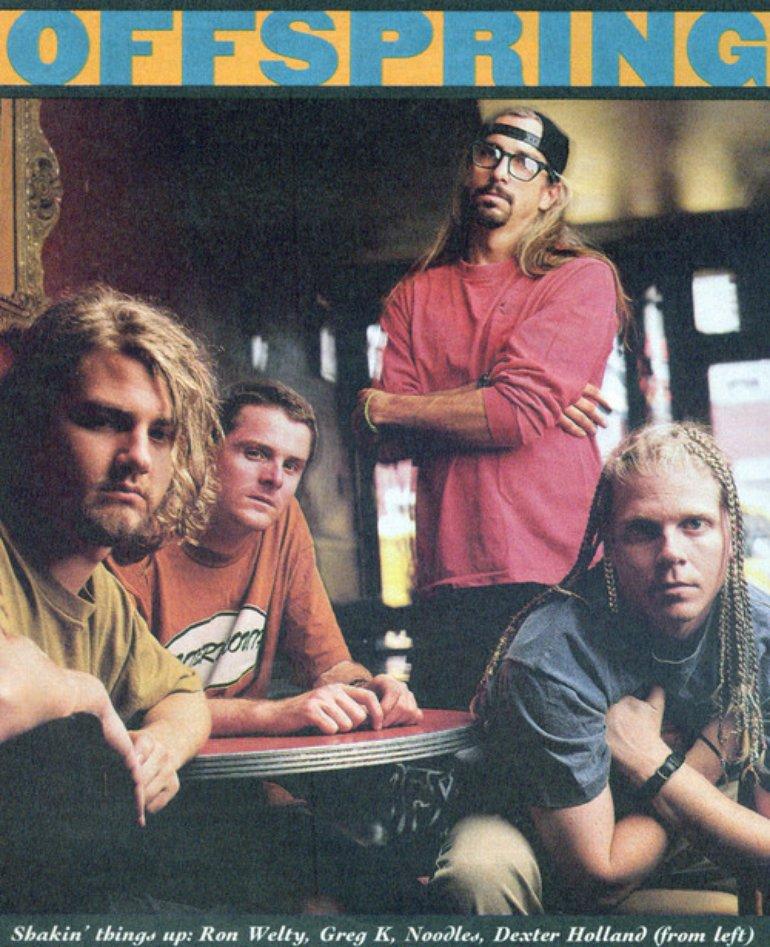 THE OFFSPRING - DEXTER HOLLAND - SMASH 1994