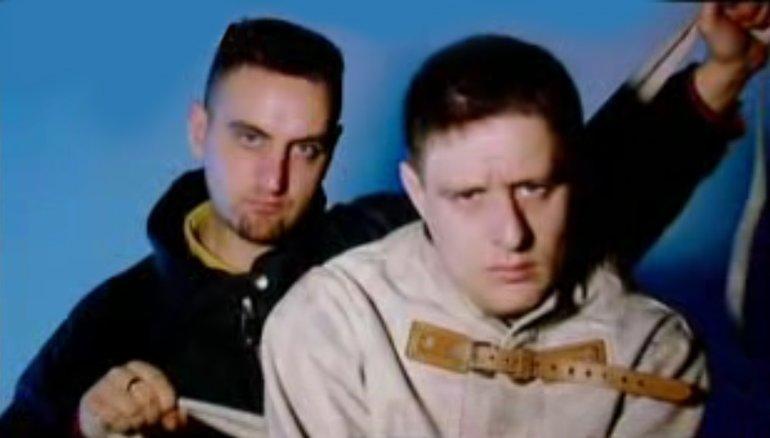 Paul and Shaun Ryder, 1991