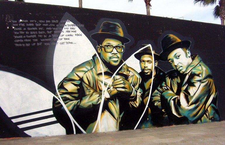 Run-D.M.C graffiti