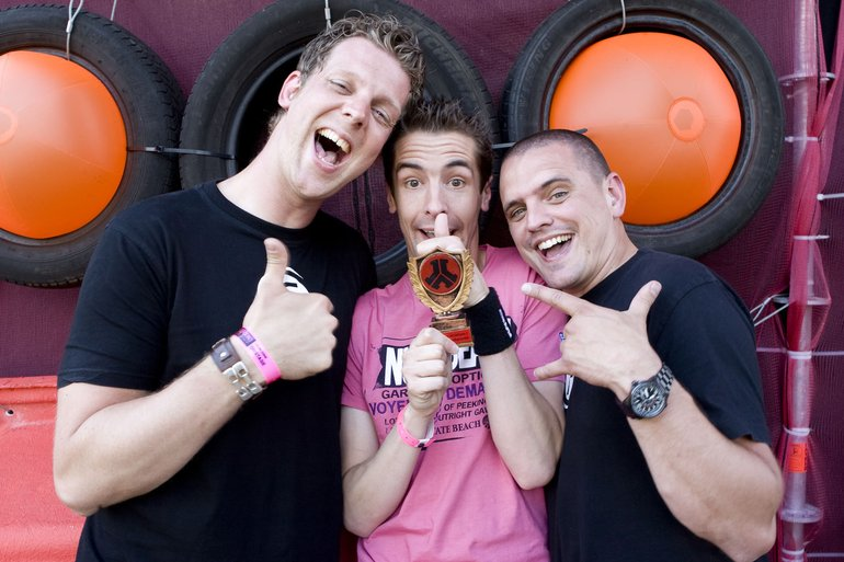 Donkey Rollers @ Defqon.1 2009