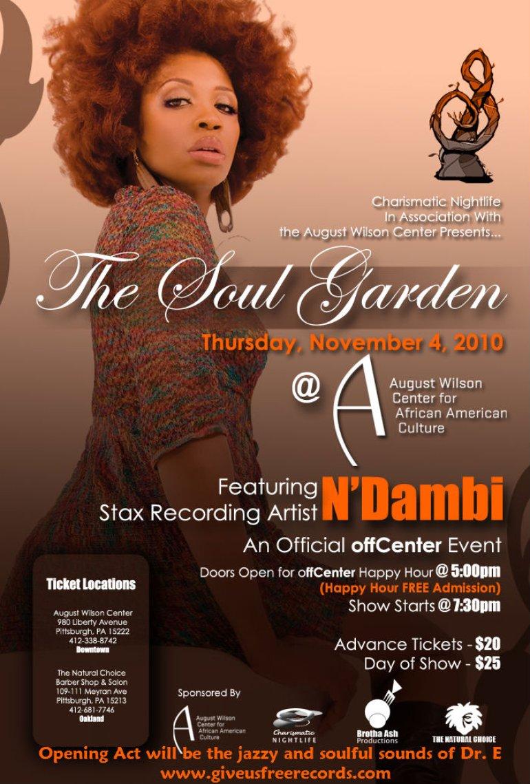 August Wilson Center Poster - N'Dambi