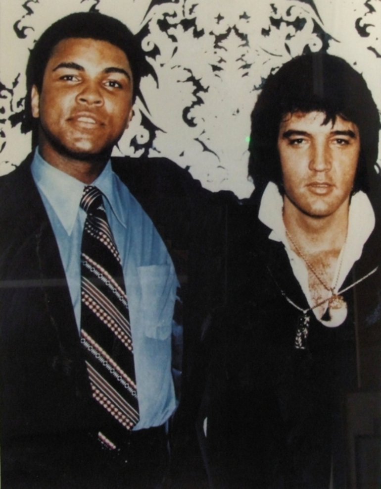 Elvis and Muhammad