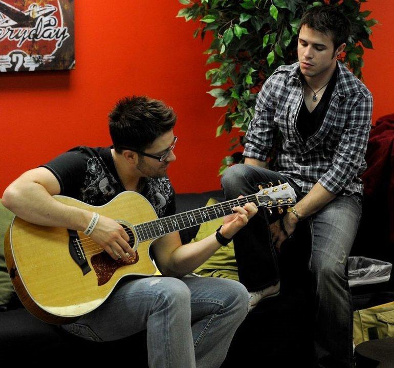 Danny and Kris