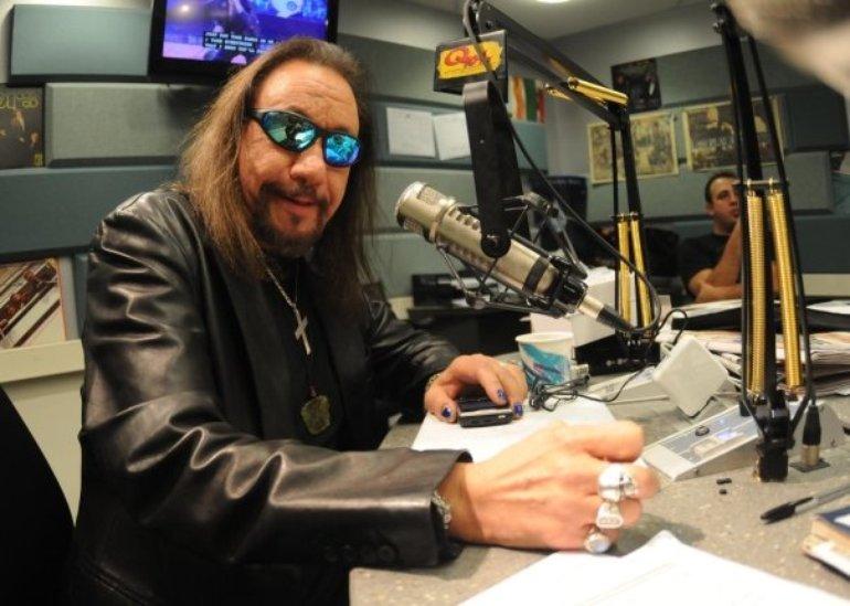 Ace @ Q104.3 radio station in New York City