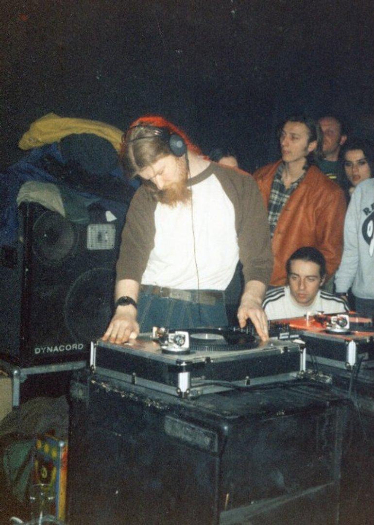 dj set@Circolo degli Artisti-Roma 1995